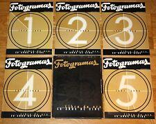 FOTOGRAMAS Libro de Oro 50 Años de Cine 1996 Coleccionable Completo con Carpeta