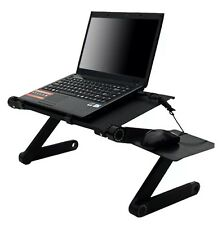 Ergonomic Lapdesk Folding Laptop Table PC Computer Desk Stand Bed Sofa Tray Book