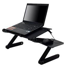 ERGONOMICO Lapdesk Pieghevole Tavolo per computer portatili pc computer Desk Stand BED DIVANO VASSOIO BOOK