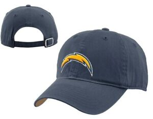 Los Angeles Chargers NFL Reebok Navy Relaxed Slouch Hat Cap Adult Adjustable