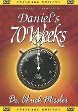 DANIEL'S 70 WEEKS - DVD by Dr. Chuck Missler, 2004 **BRAND NEW**