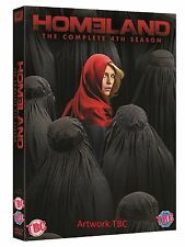 Homeland Complete Series 4 DVD Home Land Fourth Season Original UK Release New