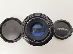 Minolta AF 50mm f/1.7 AF Lens FITS SONY ALPHA A-MOUNT VGC