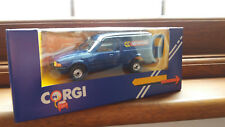 Corgi Ford Escort Van McVities Die Cast Model.