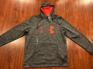 Under Armour Men's UA Graphic Logo Cold Gear Hoodie Sweatshirt Large L