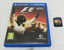 F1 2011 Formula One 11 Racing bon état UK PAL Sony Playstation Vita PSV B