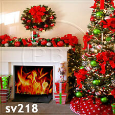 Christmas 10'x10' Computer-painted Indoor Scenic background backdrop SV218B881