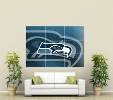 Seattle Seahawks Giant XL Section Wall Art Poster NFL124