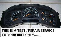 GMC YUKON Speedometer Instrument Cluster Gauge and Display REPAIR