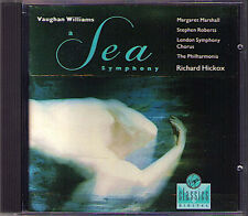 Richard HICKOX: VAUGHAN WILLIAMS A Sea Symphony VIRGIN CD 1990 Margaret Marshall