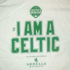 "Boston Celtics 2012 Playoffs T-Shirt Size XL ""I AM A CELTIC"" Giveaway 5/4/12"