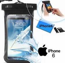 Custodia subacquea impermeabile Apple iPhone 6,6s.Cover mare,sub laccio polso