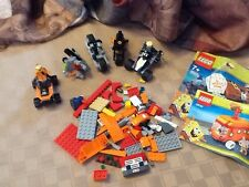 Lego lot, vehicles and sponge bob pieces to set 3830