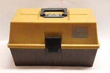 "Umco No 1283 Two Tone Tackle Box 13"" x 8"" x 8 1/2"" Vintage"