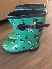 Authentic Wellies By Thomas Cook - Border Collie Design