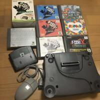 Nintendo 64DD Disk Drive Black Color Used Console Gamesoft Set Japan Rare [YM]