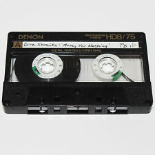 Denon HD8/75 Min Audio Cassette Tape USED Metal Particle Japan Audiophile
