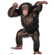 CHIMPANZEE Lifesize CARDBOARD CUTOUT Standee Standup Poster Monkey FREE SHIPPING