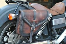 ENDSCUOIO LEFT &  RIGHT SADDLE BAG FOR HARLEY DAVIDSON DYNA - ITALIAN LEATHER