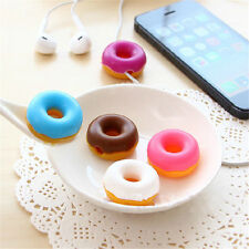 Doughnut Cable Wire Organizer Winder USB Earphone Headphone Cord Holder Novelty