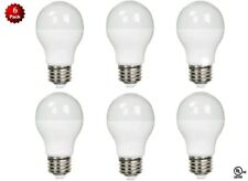 6 Pack- LED 100 Watt Equivalent 5000K 100W A19 Daylight White Light Bulb 11W UL