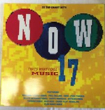 NOW THAT'S WHAT I CALL MUSIC 17:  1990 UK vinyl 2 LP : UK EXCELLENT CONDITION