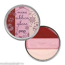 LOT OF 2 Pop Beauty Mini Ribbon Gloss Lip Gloss PEONY PINK, New & Sealed