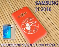 Cover case custodia gel in gomma silicone x Samsung J1 2016 CUPIDO I LOVE