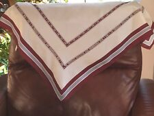 "Silk Scarf VMI pre 1997 Virginia Military Institute College Male 28"" X 27"""