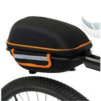 Bicycle Bike Rear Behind Rack Seat Post Luggage Carrier Bag Hard Case Storage