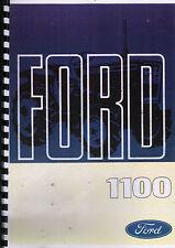 "Ford ""1100"" Compact Tractor Operator Manual Handbook"