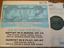 SOL 290 HUMMEL/Melos Ensemble