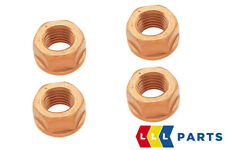 BMW NEW GENUINE E90 E60 F10 F25 EXHAUST FLANGE SELF LOCKING NUT HEX M10 4PCS