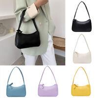 Women Retro PU Leather Small Shoulder Bag Vintage Handbag Hobos Bag Totes
