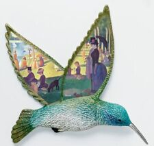 "Seurat ""Sunday Afternoon"" - Hummingbird Wall Plate Decor Art - Bradford Exchange"