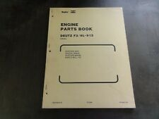 RayGo Deutz F3/6L-912 Engine Parts Book Manual   KELP3543-01