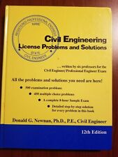 Civil Engineering License Problems and Solutions
