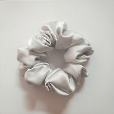 Free Shipping 100% Pure Mulberry Silk Hair Scrunchie Charmeuse Hair Accessories