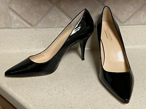 Talbots Women's Size 10B High Heel Pumps Color Black Pointed Toe New Without Box