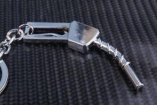 Petrol Diesel Pump Nozzle Handle Old Keyring Keyfob Keychain Metal Mini