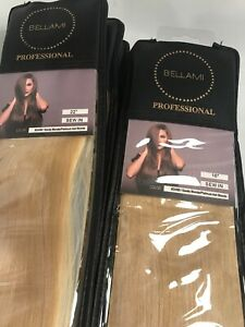Bellami PROFESSIONAL Sew In Extensions #24/60 Sandy Blonde Platinum Ash Blonde