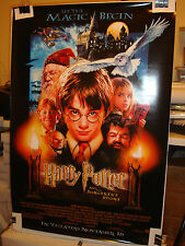 HARRY POTTER And The Sorcerers Stone Original Double Sided 27x40 Movie Poster