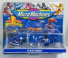 Micro Machines 1994 POWER RANGERS Blue Ranger UNOPENED mip Galoob