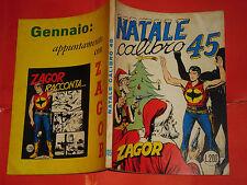 ZAGOR ZENITH- ORIGINALE- N°105 a -LIRE 200- (ZAGOR gigante N°54)- DEL 1969- raro