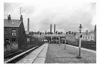 bb0003 - Bacup Railway Station , Lancashire in 1963 - photograph