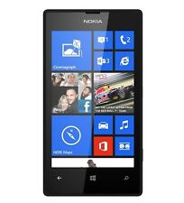 LN NOKIA LUMIA 520 BLACK AT&T UNLOCKED GSM 8GB WINDOWS 8 WIFI WORLD SMARTPHONE