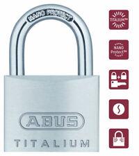 ABUS Titalium Vorhangschloss / Vorhängeschloss 64TI/40 gleichschließend