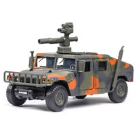 1:32 HMMWV M1046 Humvee Military Vehicle Diecast Model Car Toy Light Camouflage