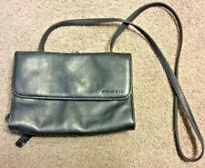 Fossil Black Leather Handbag Purse