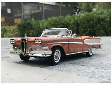 1/18 1958 Ford EDSEL CITATION Road Signature Diecast Model Car Toys